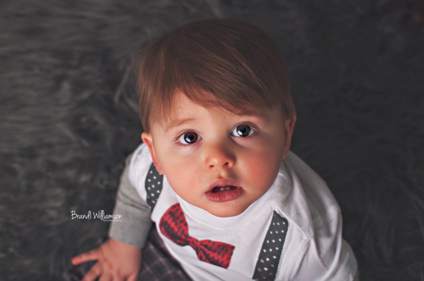 © Brandi Williamson Photography | 1 year old birthday boy