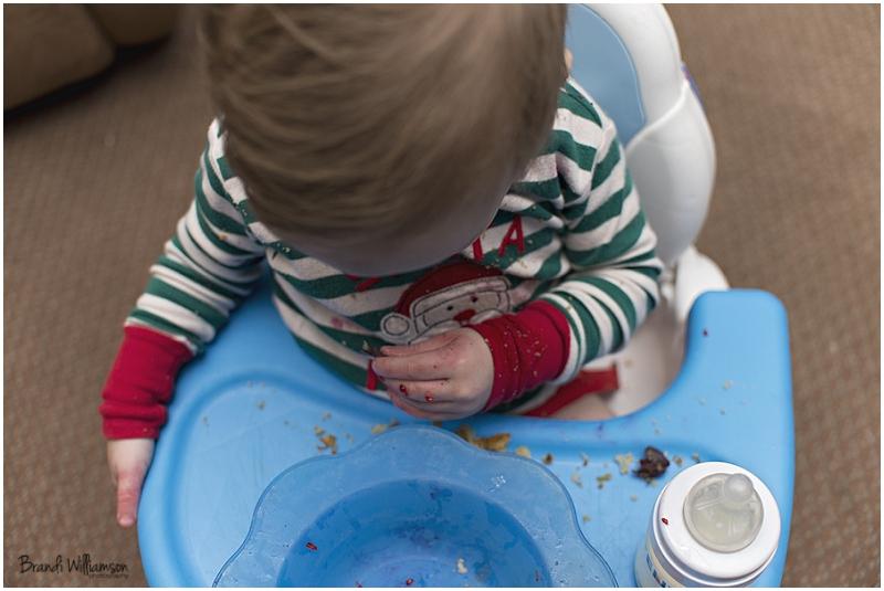 © Brandi Williamson Photography | raspberries, bubbles & a baby boy
