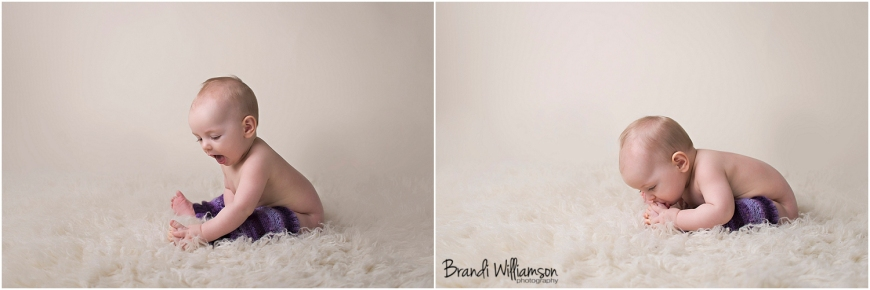 © Brandi Williamson Photography | 6 month old girl