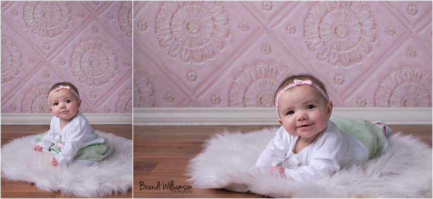 © Brandi Williamson Photography | 6 month baby girl