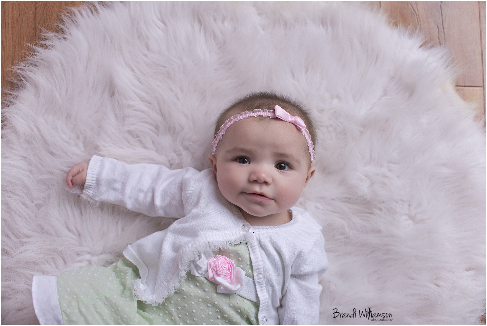 © Brandi Williamson Photography | 6 month baby girl