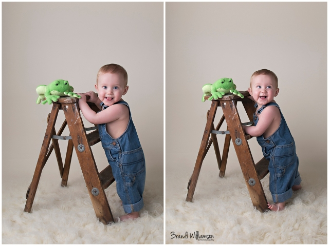 © Brandi Williamson Photography | 9 month old baby boy