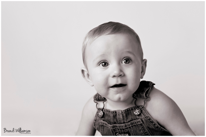 © Brandi Williamson Photography | 9 month old baby boy