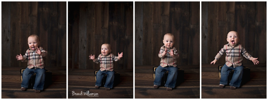 © Brandi Williamson Photography | 10 month old baby boy