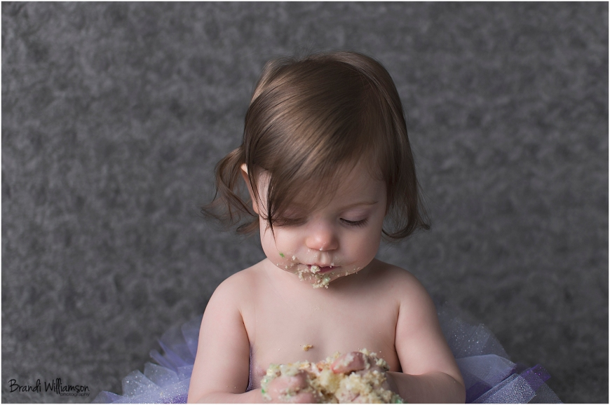 © Brand Williamson Photography | 1 year old | owl smash cake