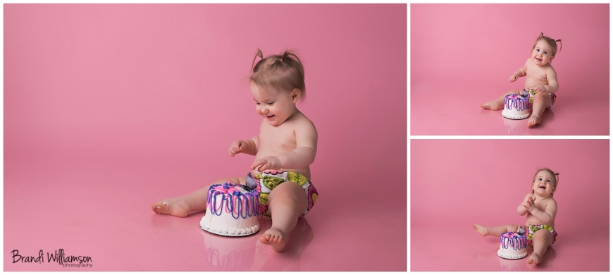 © Brandi Williamson Photography | happy 1st birthday sweet girl | smash cake