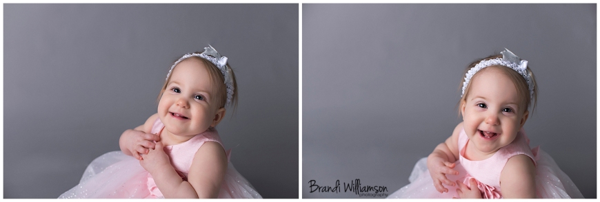 © Brandi Williamson Photography | happy 1st birthday sweet girl