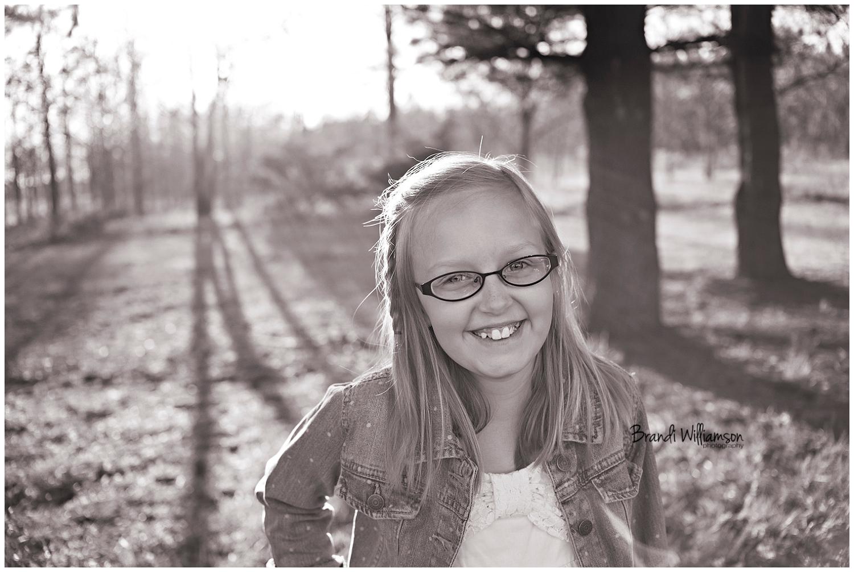 © Brandi Williamson Photography | NE Ohio Photographer | 9 year old