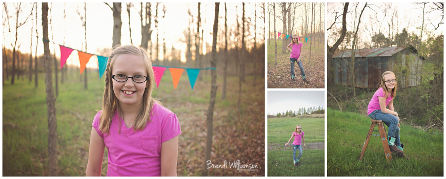 © Brandi Williamson Photography | NE Ohio Photographer | 9 year old
