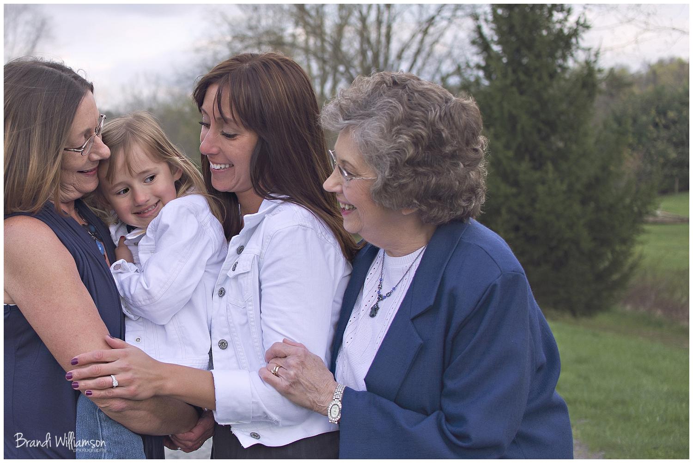 © Brandi Williamson Photography | Dover, New Philadelphia OH Photographer | mom, grandma, great grandma & child