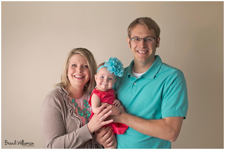 © Brandi Williamson Photography   6 month baby girl   NE Ohio photographer