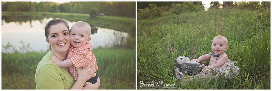 © Brandi Williamson Photography | 6 month baby boy