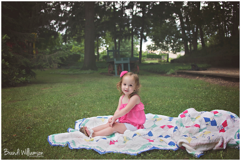 © Brandi Williamson Photography   NE Ohio toddler 2nd birthday photographer   2 year old   Warther
