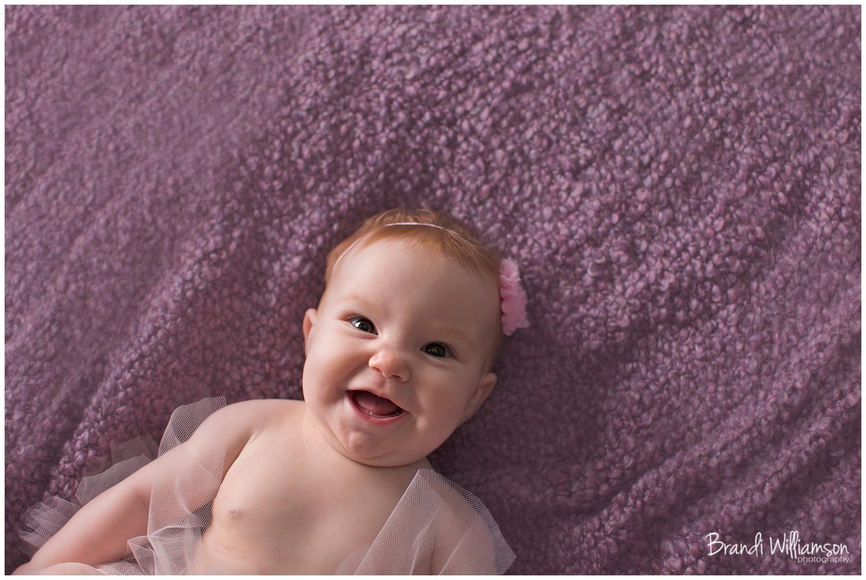 © Brandi Williamson Photography   NE Ohio Photographer   6 month old baby
