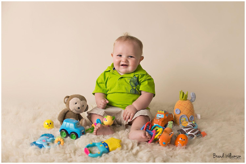 © Brandi Williamson Photography   NE Ohio Photographer   9 month baby boy