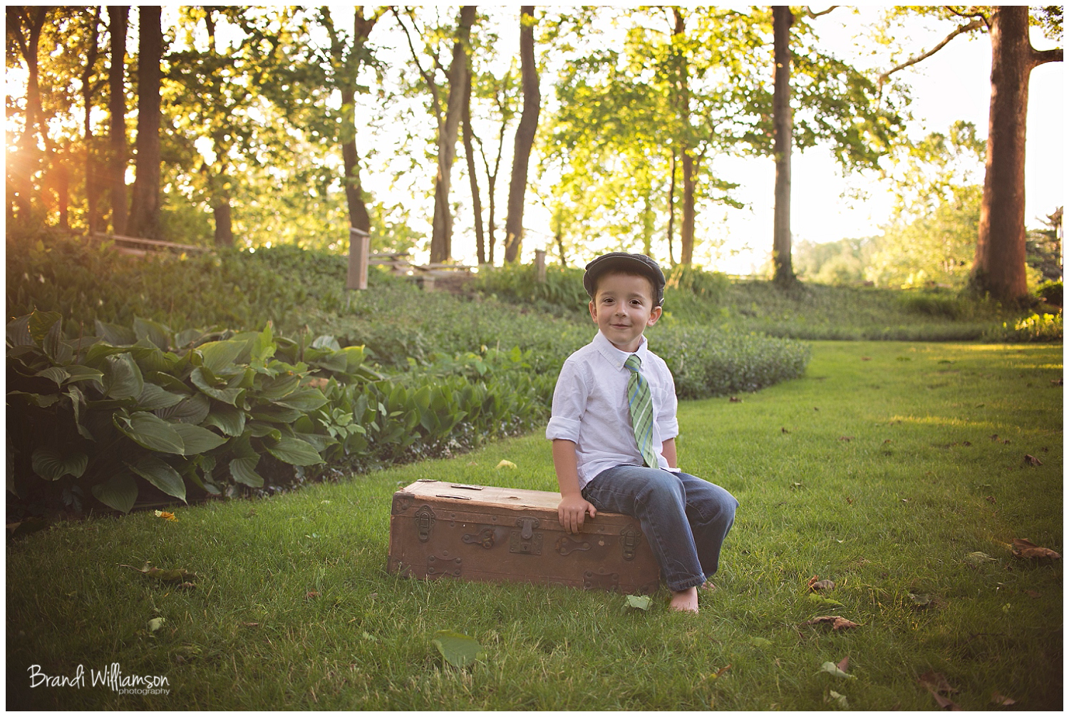 © Brandi Williamson Photography | NE Ohio Photographer | 5 year old boy