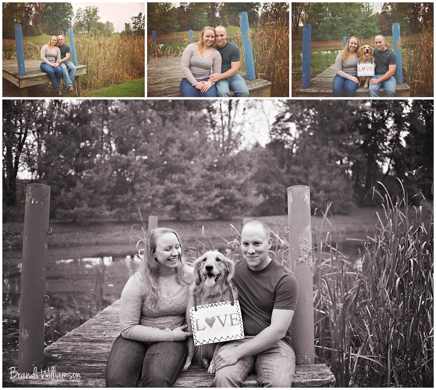 © Brandi Williamson Photography | Dover, New Philadelphia OH engagement photographer | www.brandiwilliamsonphotography.com