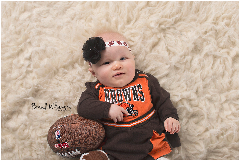 Dover, New Philadelphia Ohio Newborn Photographer   © Brandi Williamson Photography   6 month old baby girl