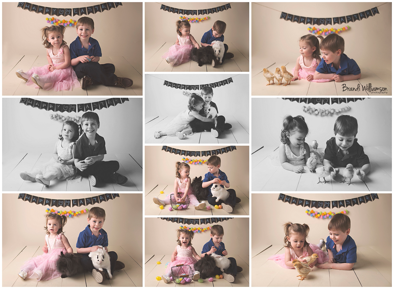 Dover, New Philadelphia Ohio baby, child + Easter photographer | Easter Mini Session | © Brandi Williamson Photography