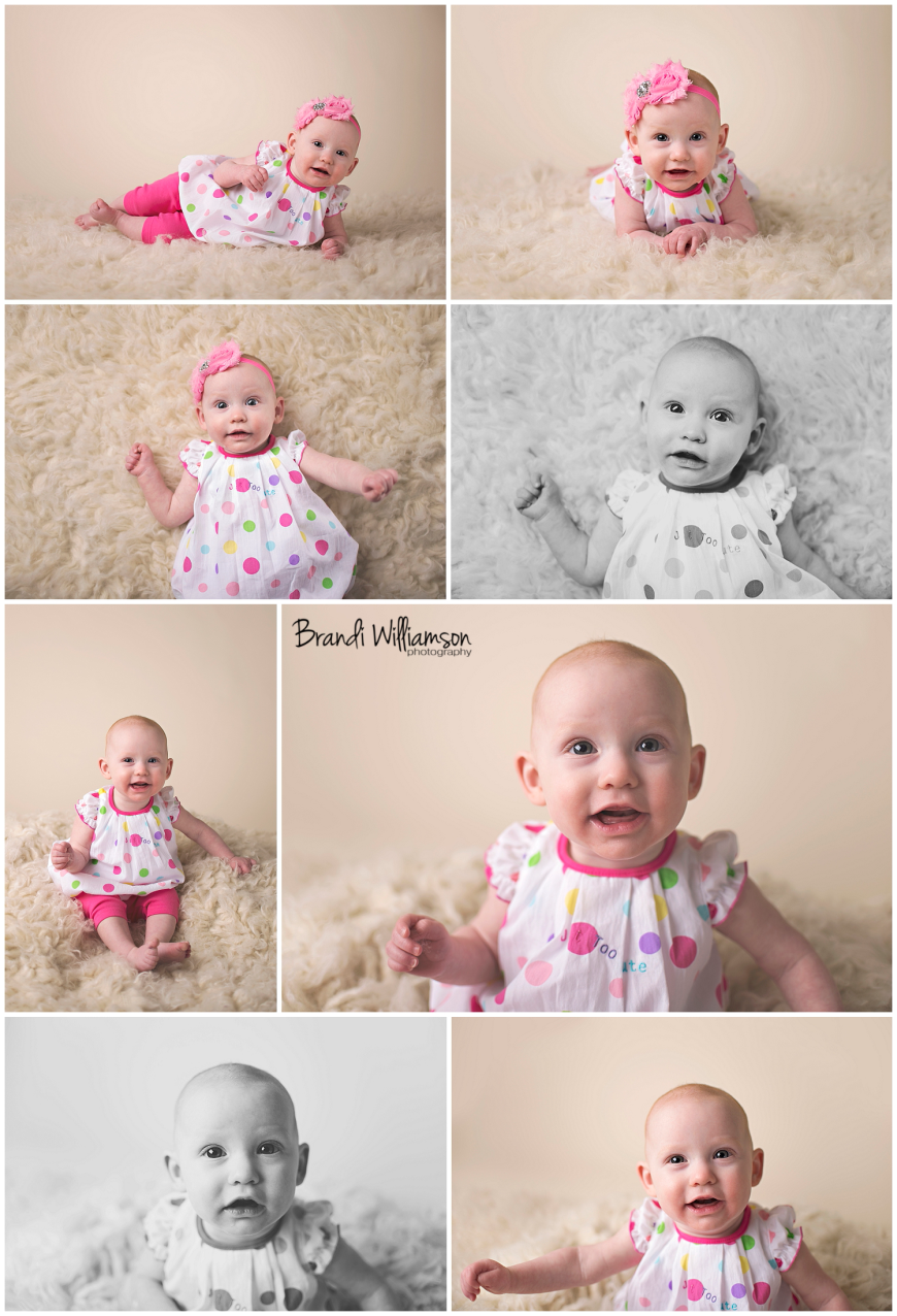 Dover, New Philadelphia Ohio baby photographer | 6 month old | © Brandi Williamson Photography