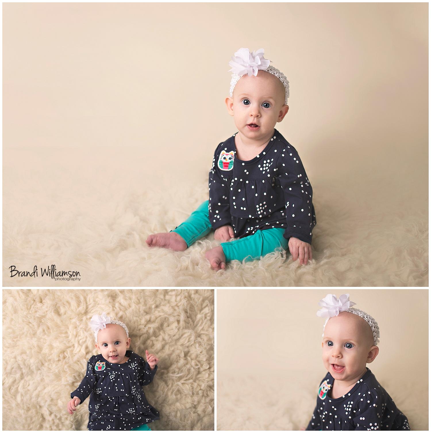 Dover, New Philadelphia Ohio baby photographer | 6 month old | © Brandi Williamson Photography