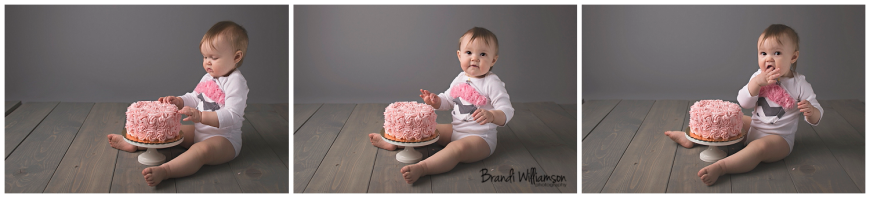 Dover, New Philadelphia Ohio baby + child + smash cake photographer | 1 year old | © Brandi Williamson Photography