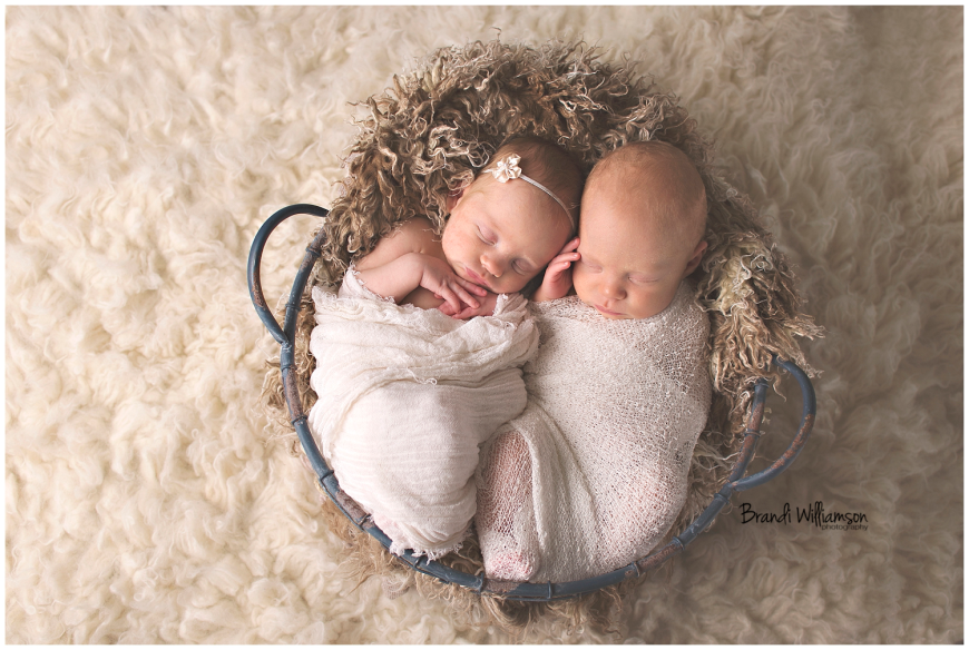 Dover, New Philadelphia Ohio newborn twins photographer | © Brandi Williamson Photography