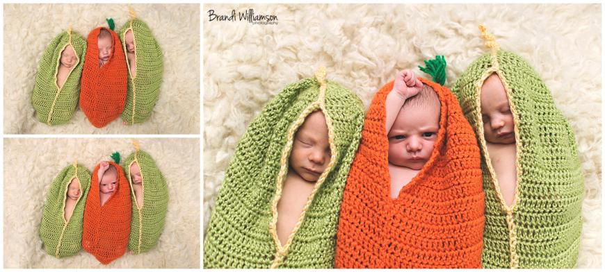 Dover, New Philadelphia Ohio newborn twins photographer | © Brandi Williamson Photography