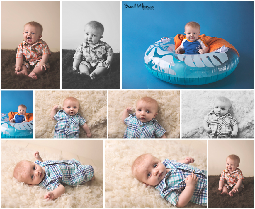 Dover, New Philadelphia Ohio 6 month baby girl photographer | © Brandi Williamson Photography