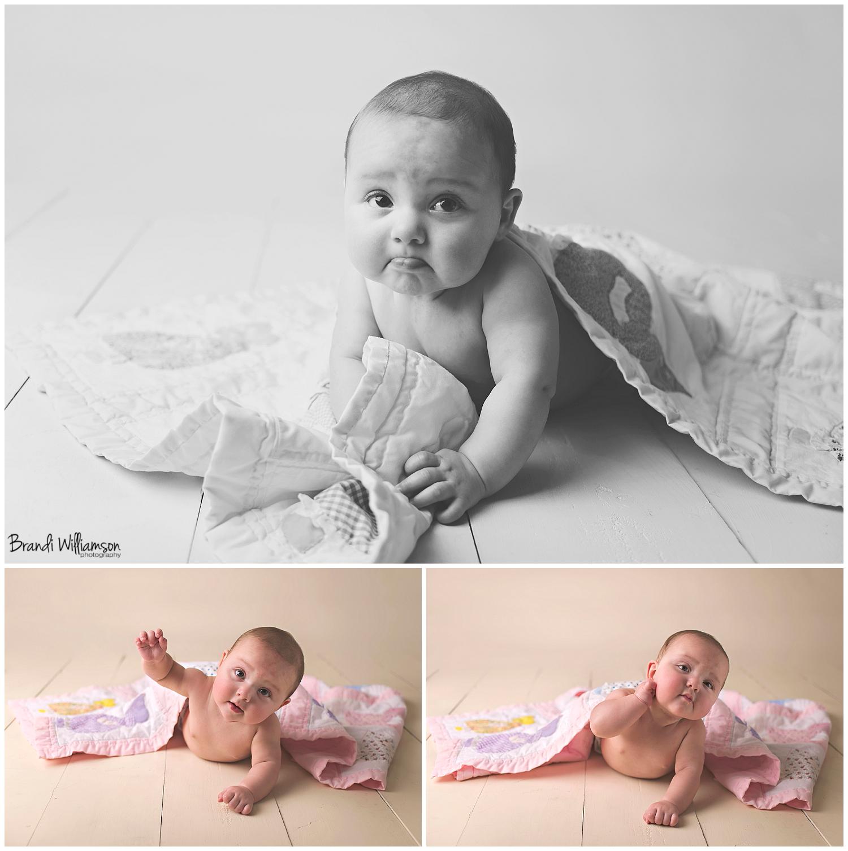 Dover, New Philadelphia Ohio baby photographer    6 month old baby photography    © Brandi Williamson Photography