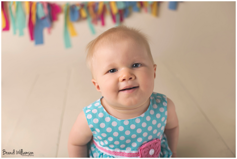 New Philadelphia, Dover Ohio baby + 1st birthday photographer | © Brandi Williamson Photography | happy 1st birthday
