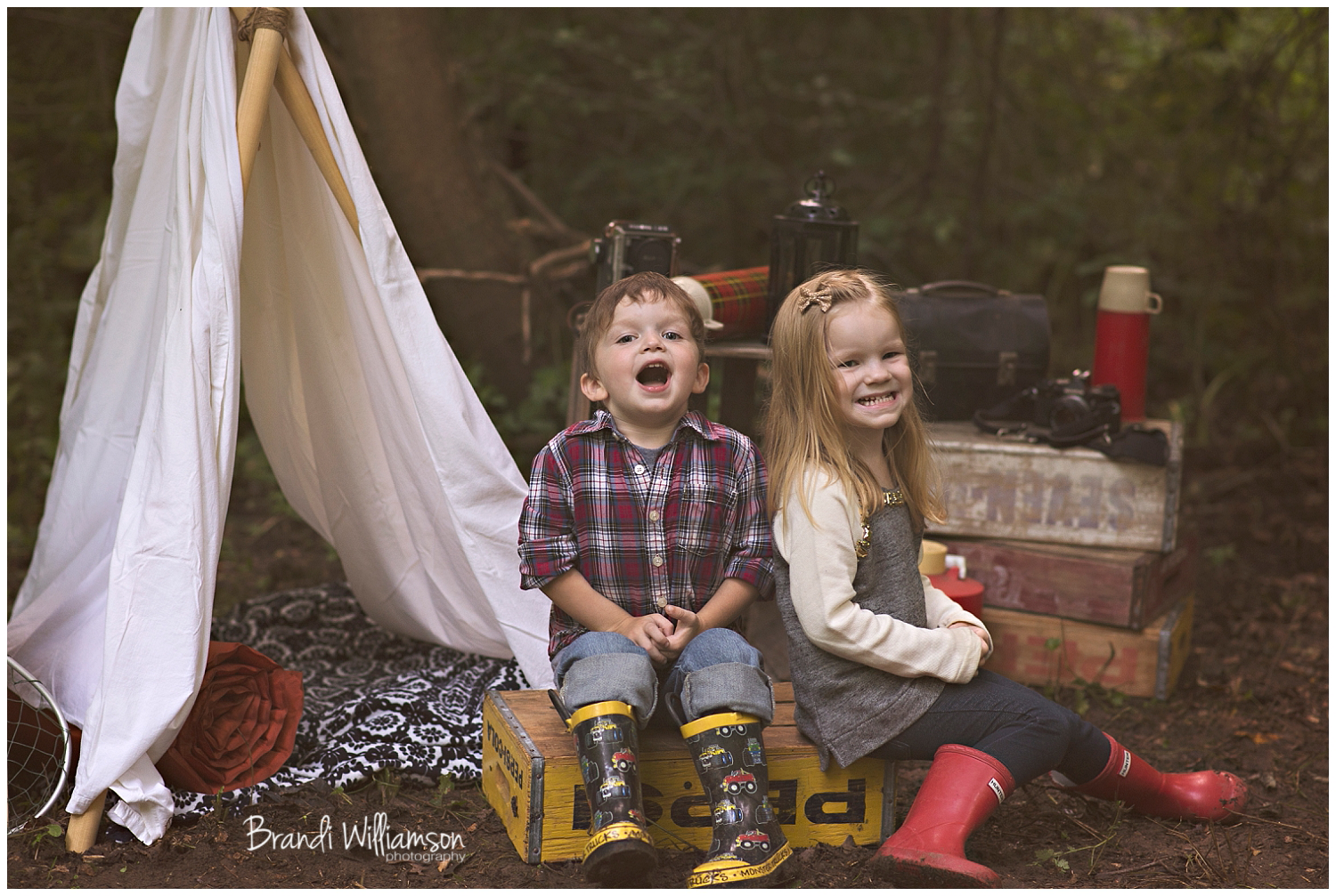 New Philadelphia, Dover Ohio child photographer | © Brandi Williamson Photography