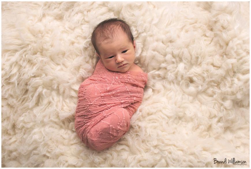 Dover, New Philadelphia OH newborn photographer | baby girl | Ohio Photographer | ©Brandi Williamson Photography