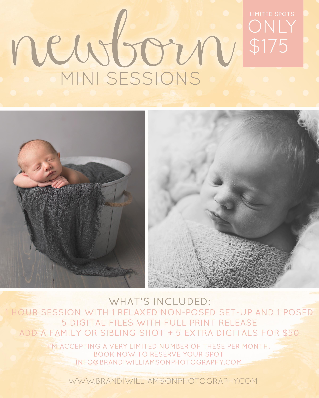 Dover, New Philadelphia Ohio Newborn Mini Sessions | baby photographer