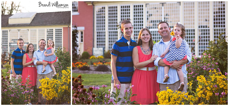 Dover, New Philadelphia Ohio family photographer   © Brandi Williamson Photography 2014   family session at Zoar Gardens