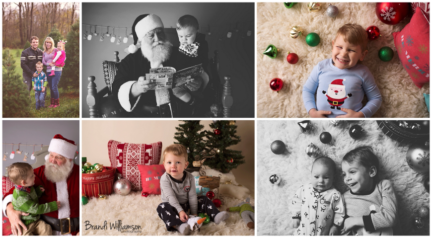 New Philadelphia, Dover Ohio Christmas Session Photographer, Photography, studio session, outdoor location session, © Brandi Williamson Photography