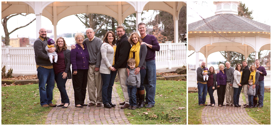 Dover Ohio extended family photographer Warther's Garden 44622