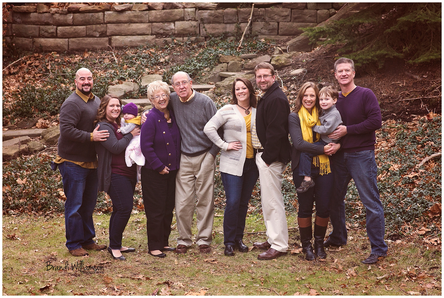 Dover Ohio extended family photographer Warther