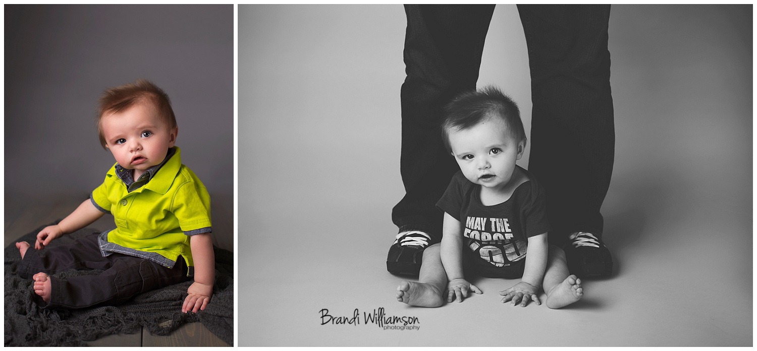 Akron OH baby photographer | Dover New Philadelphia studio photographer | © Brandi Williamson Photography