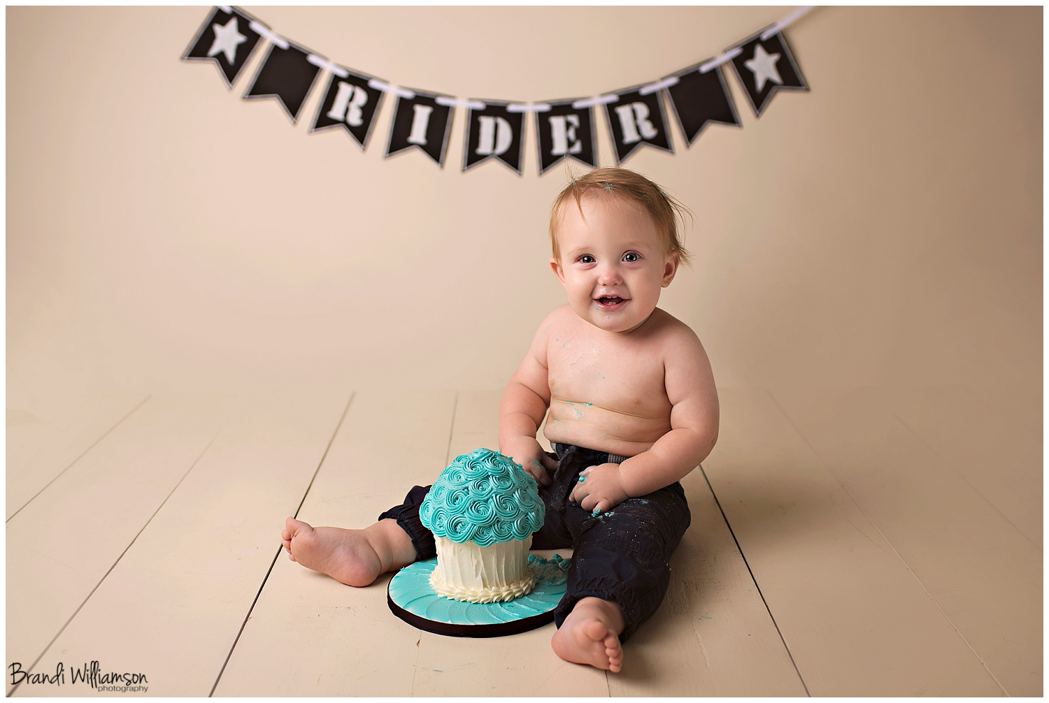 Dover New Philadelphia OH Smash Cake Photographer | rider's giant ...