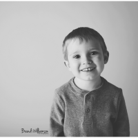 Akron OH children's photographer | quick 2 year milestone session + a big brother