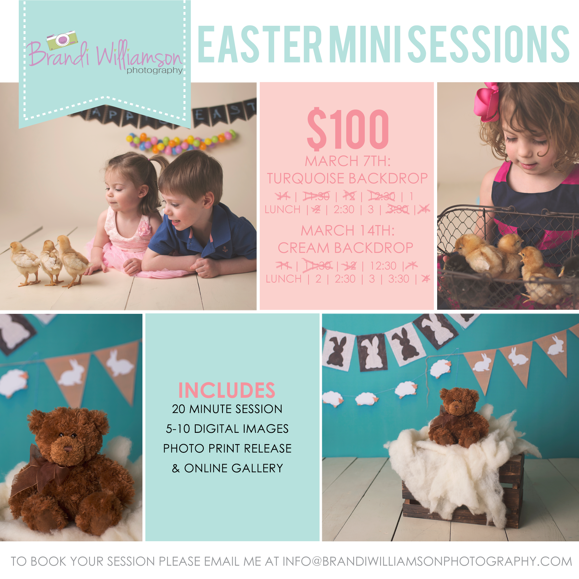 Dover New Philadelphia OH Easter Spring Sessions | Northeast Ohio Photographer | Tuscarawas County OH | Stark County OH | www.brandiwilliamsonphotography.com