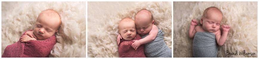 New Philadelphia Ohio 44663 natural newborn and baby photographer | twins | © Brandi Williamson Photography | www.brandiwilliamsonphotography.com